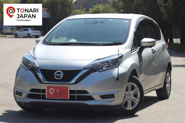 Nissan Note II Рестайлинг серый