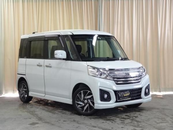 Suzuki Spacia I Рестайлинг 2016  белый
