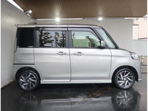 Suzuki Spacia I Рестайлинг 2016 белый сбоку