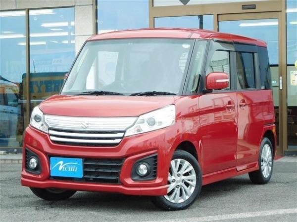 Suzuki Spacia I Рестайлинг 2016 красный