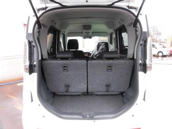 Suzuki Spacia I Рестайлинг 2016 багажник