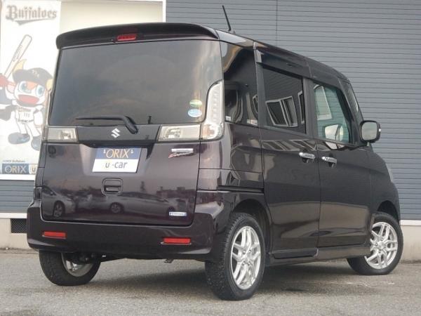 Suzuki Spacia I Рестайлинг 2016 коричневый сзади