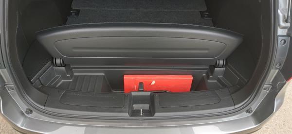 Nissan Wingroad III 2017 багажник
