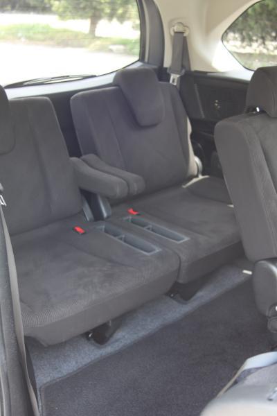 Honda Freed внутри