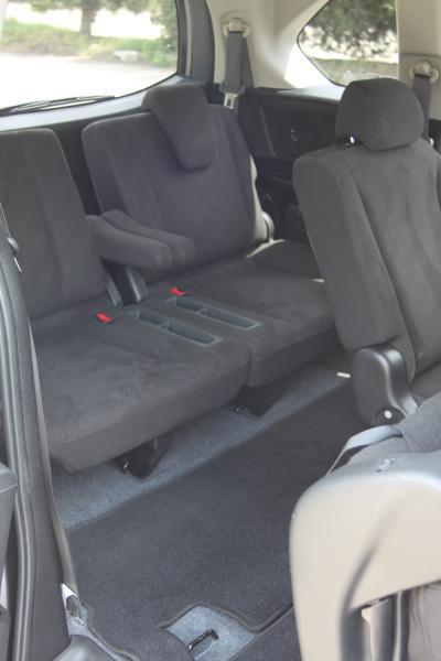 Honda Freed 2015 внутри