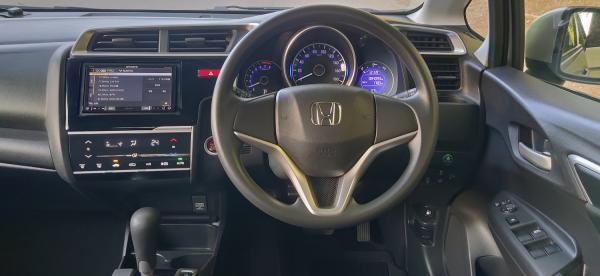 Honda Fit III Рестайлинг руль