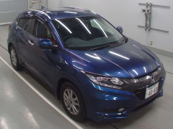 Honda Vezel 2015 синий