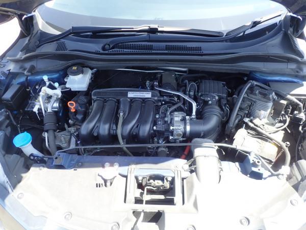 Honda Vezel I Рестайлинг синий дивгатель
