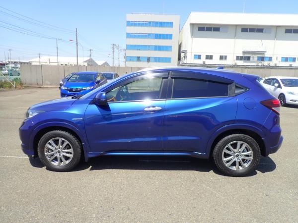 Honda Vezel I Рестайлинг синий бок