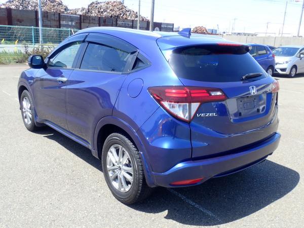 Honda Vezel I Рестайлинг синий зад