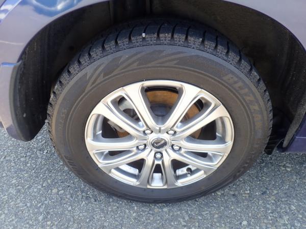 Honda Vezel 2015 синий колесо