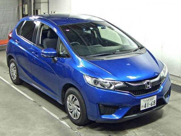 Honda Fit 2017 синий