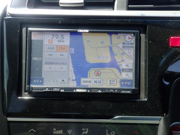 Honda Fit III Рестайлинг экран
