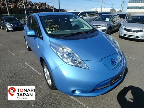 Nissan Leaf 2012 синий