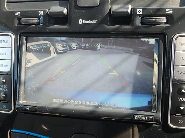 Nissan Leaf 2012 вид с камеры