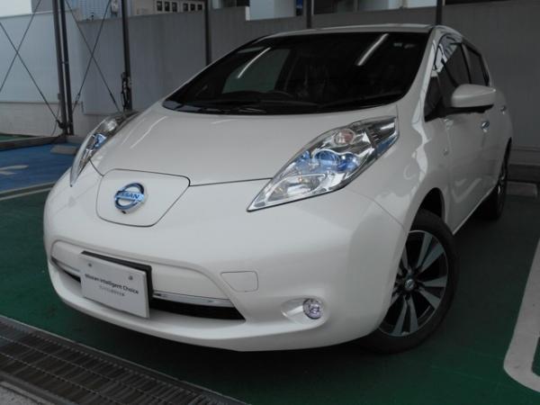 Nissan Leaf I 2016 белый