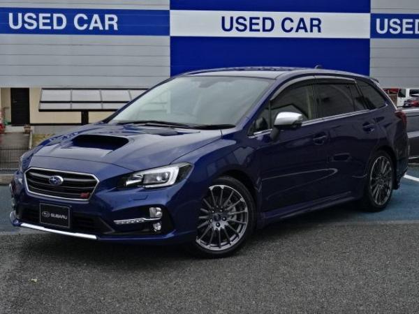 Subaru Levorg I синий