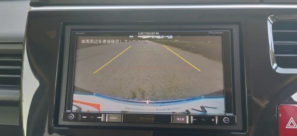 Honda Stepwgn V Рестайлинг экран