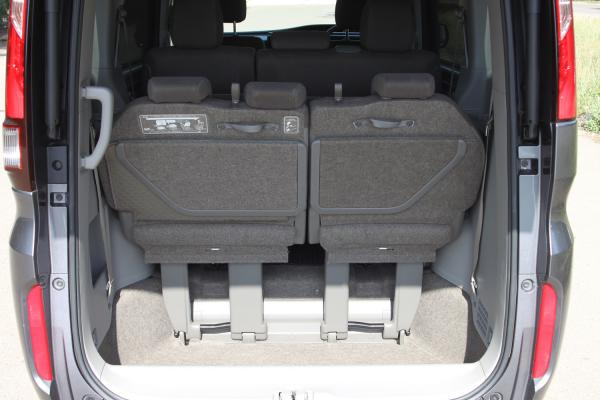 Honda Stepwgn V Рестайлинг багажник