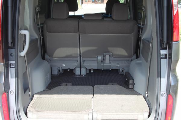 Honda Stepwgn 2018 серый багажник