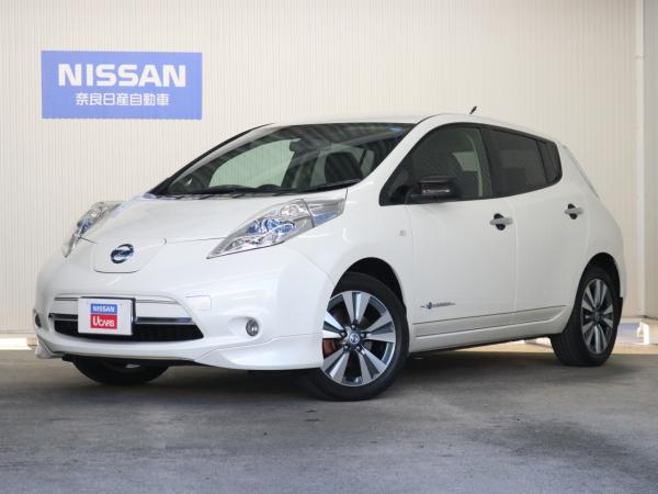 Nissan Leaf I white