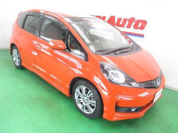 Honda Fit II рестайлинг 2012 красный