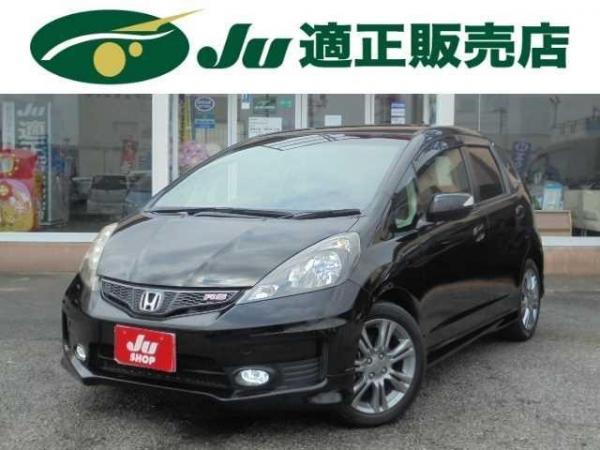 Honda Fit II рестайлинг 2012 чёрный