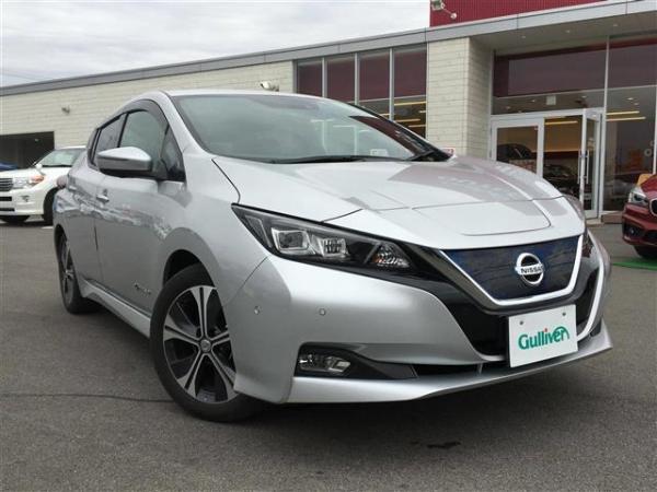 Nissan Leaf II 2017 grey