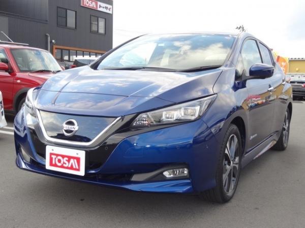 Nissan Leaf II синий
