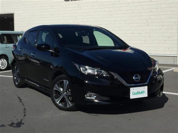 Nissan Leaf II 2017 чёрный