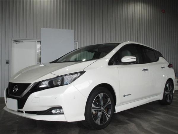 Nissan Leaf II белый перед