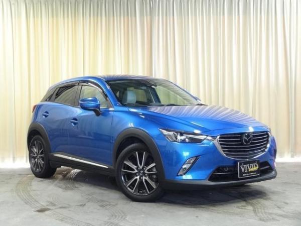 Mazda CX-3 I рестайлинг 2016 синяя