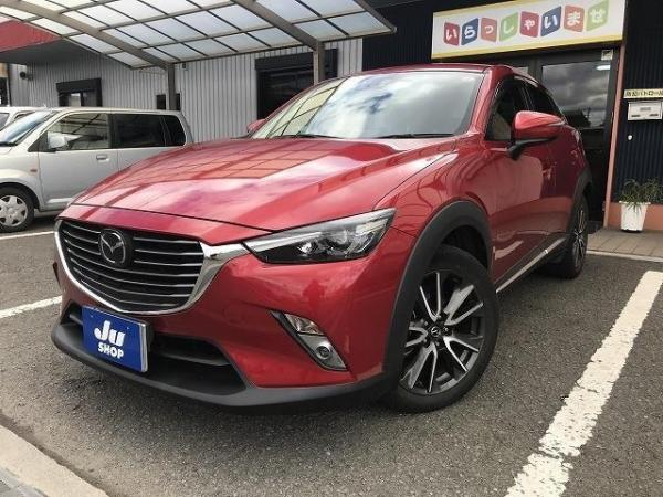 Mazda CX-3 2016 красная спереди