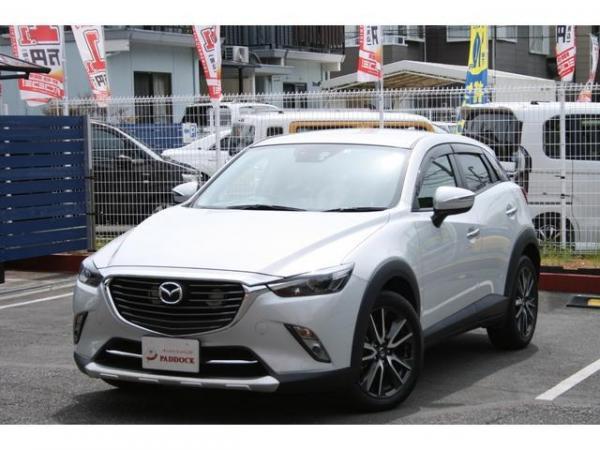 Mazda CX-3 2016 белая спереди