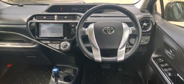 Toyota Aqua I Рестайлинг руль