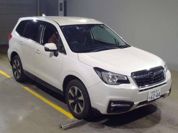 Subaru Forester Рестайлинг IV