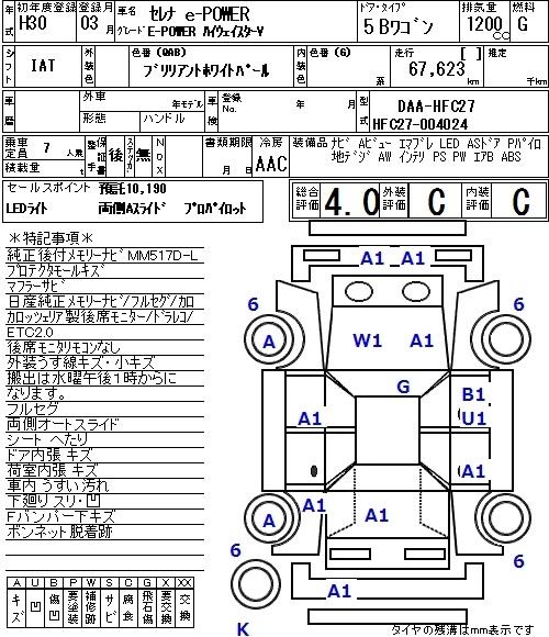 Nissan Serena E-Power V