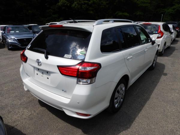 Toyota Corolla Fielder III, Рестайлинг